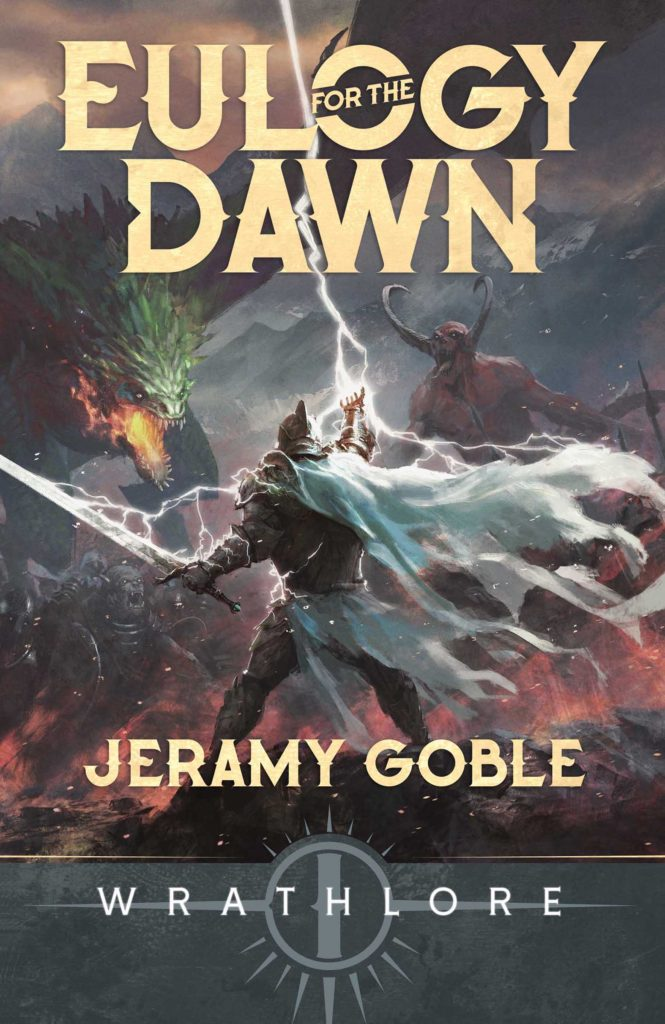 New epic fantasy book, Eulogy for the Dawn cover